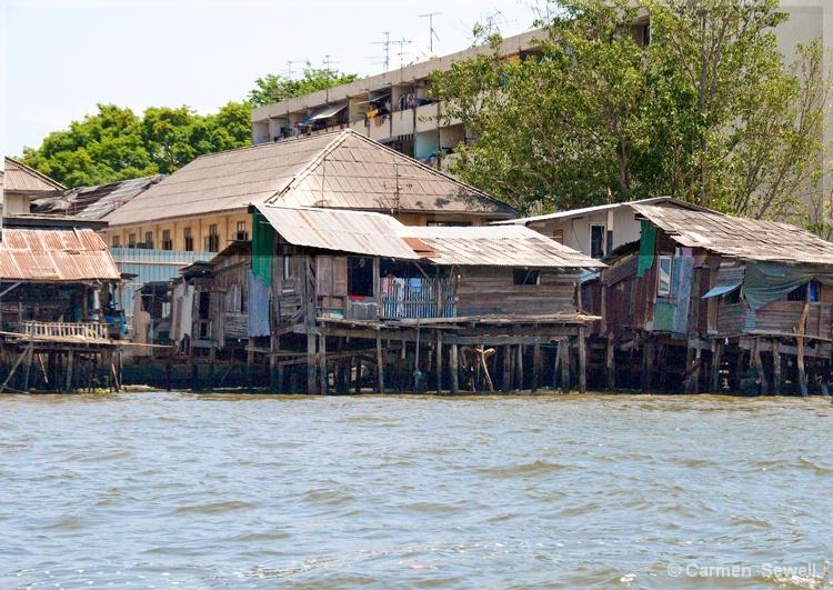 Bangkok Along the River - ID: 8169384 © Carmen B. Sewell