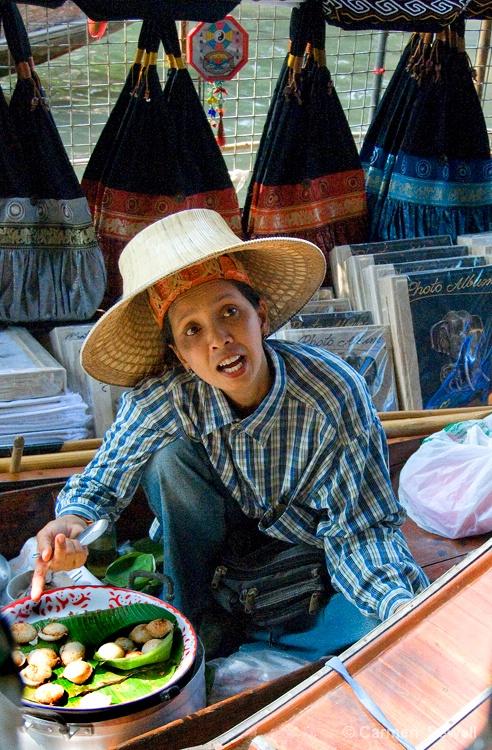 Floating Market Vendor - ID: 8169419 © Carmen B. Sewell