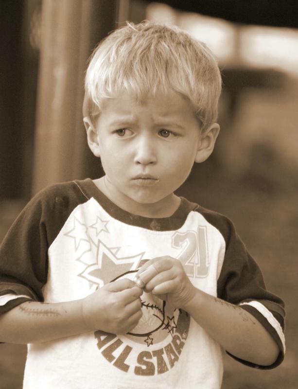 A Cautious Kid
