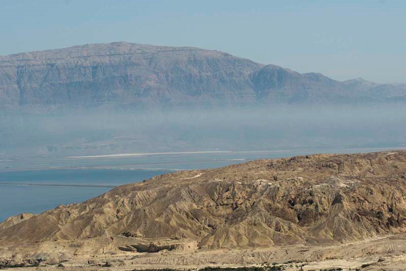 Live colors at the Dead Sea