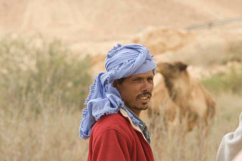 The camel shepherd