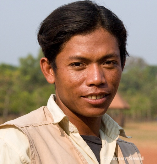 Cambodian Man - ID: 8258473 © Carmen B. Sewell