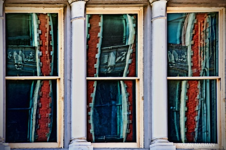 Distorted Curtains