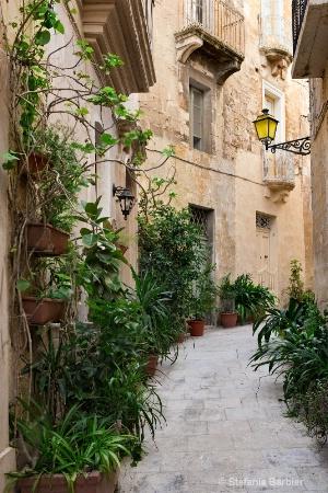 An alley in Malta