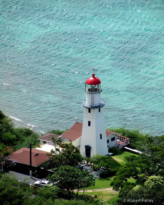 Diamond Head Light House - ID: 8357468 © Bob Farley