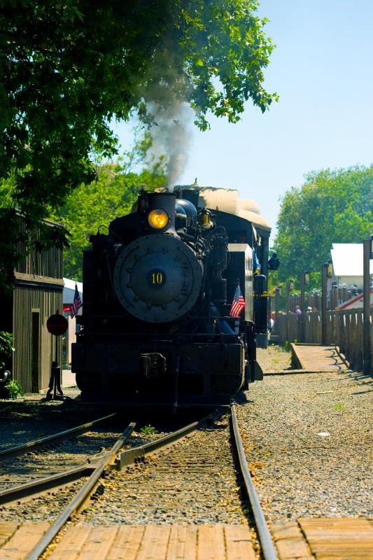 Steamer in Old Sacramento