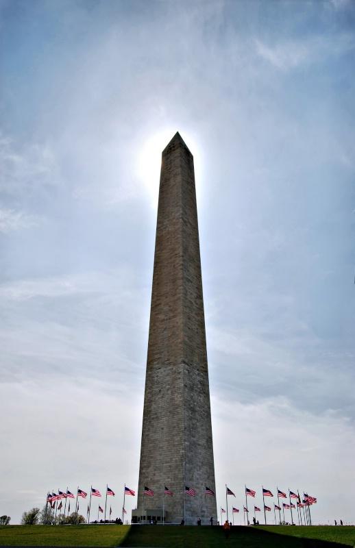 Washington's Sun Dial - ID: 8403999 © Clyde P. Smith