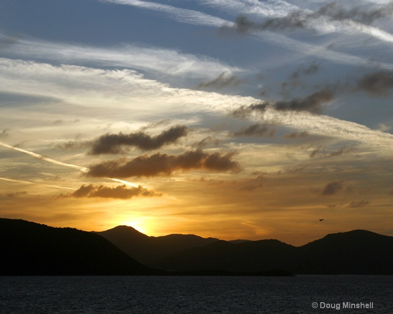 Awesome Caribbean Sunset 3 - ID: 8409756 © Douglas R. Minshell