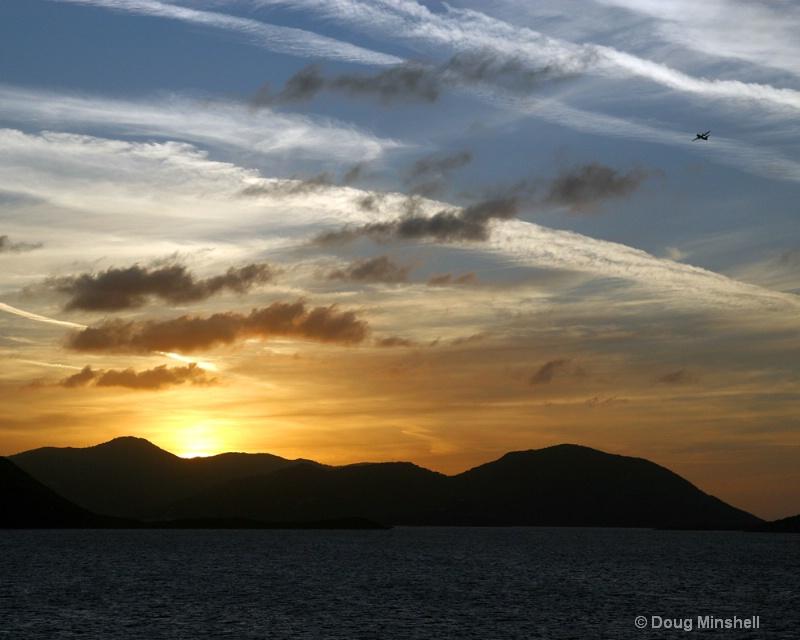 Awesome Caribbean Sunset 4 - ID: 8409757 © Douglas R. Minshell