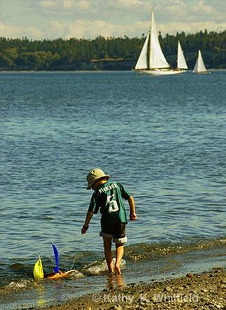 Dreams Of Sailing - ID: 8416148 © Kathy K. Whitfield