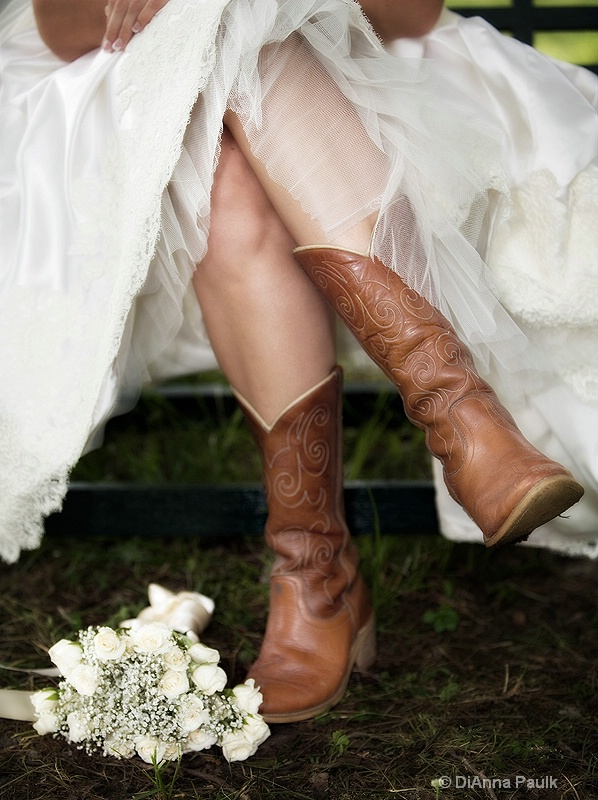 Boots and a Bouquet