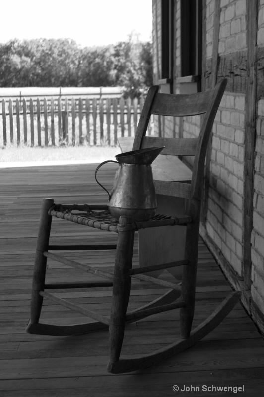 b w chair