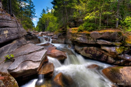 Middle Ammonoosuc Falls Wide Version