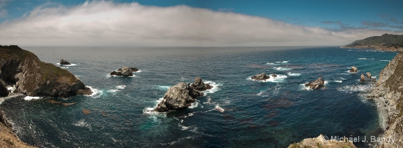 Monterey Coastline Panorama