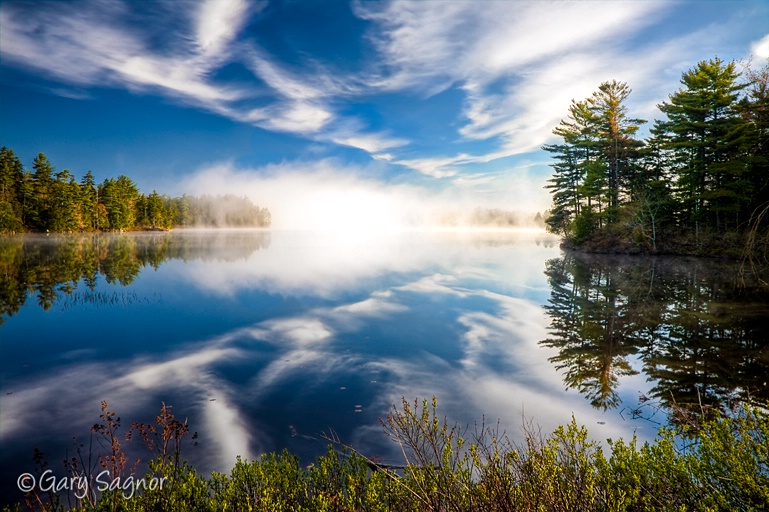 Sunrise at Somes Pond, Mt. Desert Island Maine