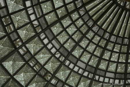 Dome, East Portal, Los Angeles Union Station