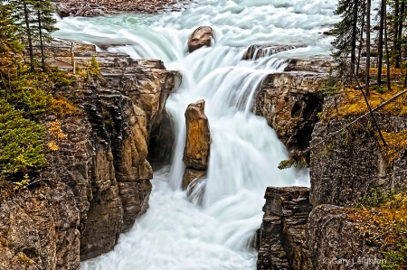 Sunwapt Falls, Jasper AB