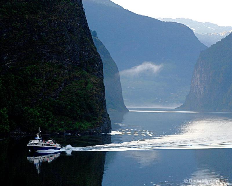 Norwegian Fjord Reflection - ID: 8521932 © Douglas R. Minshell