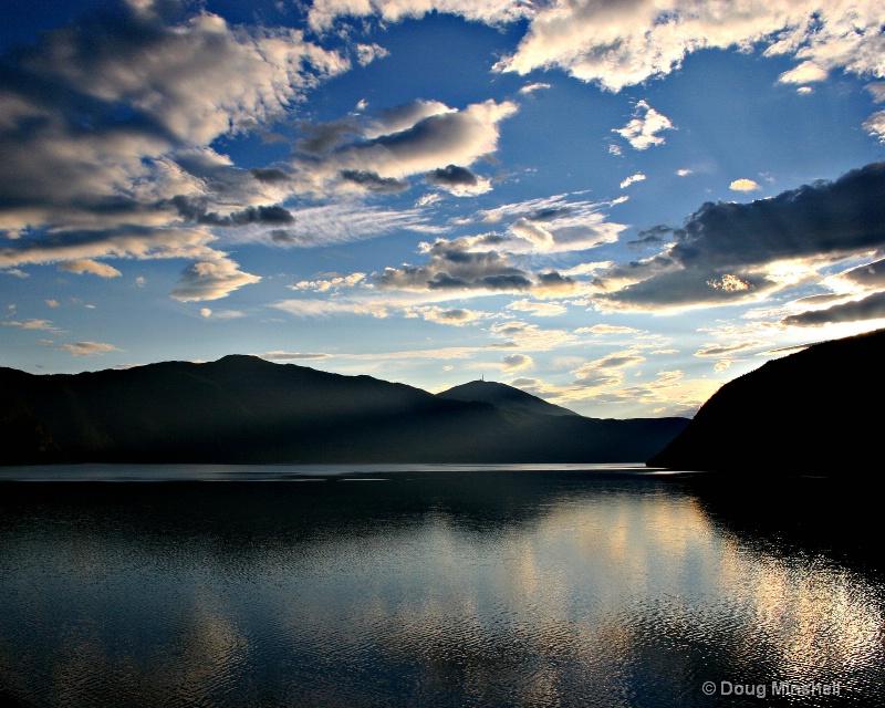 Norwegian Fjord Morning Sky - ID: 8521933 © Douglas R. Minshell