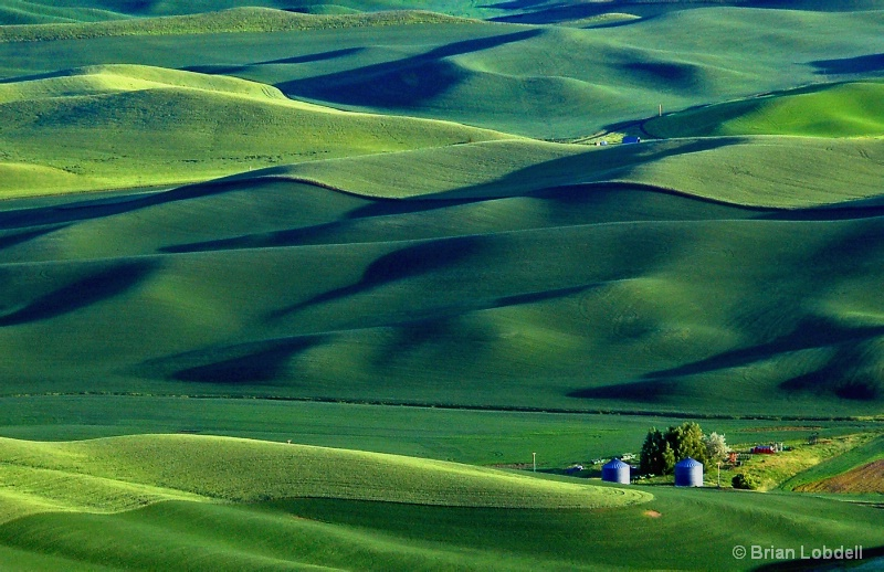 Palouse Country Farm, from Steptoe Butte