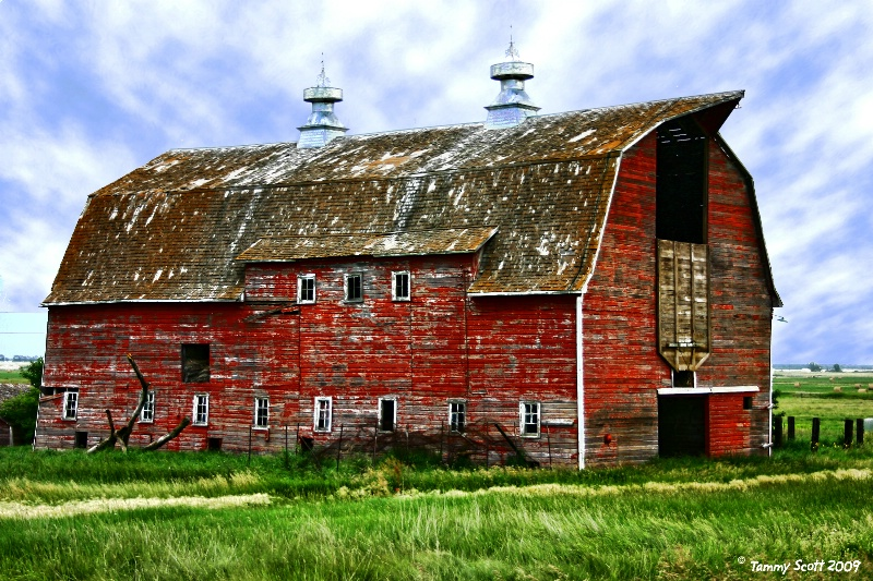Broad Side of a Barn