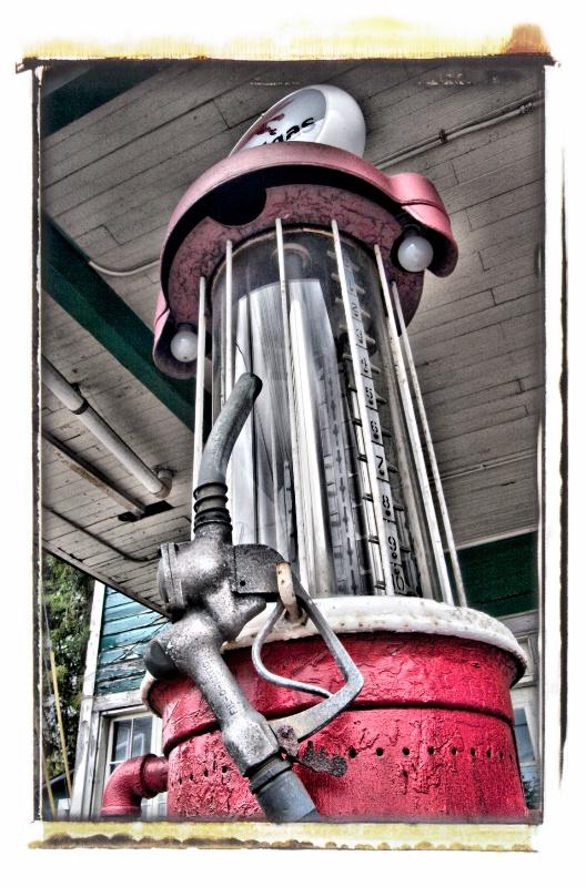 Vintage Gas Pump - ID: 8557515 © Craig W. Myers