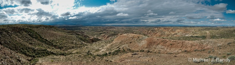 Wyoming Canyons Pano 1