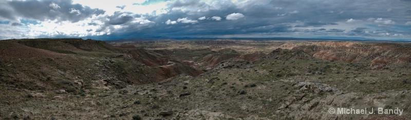 Wyoming Canyons Pano 2