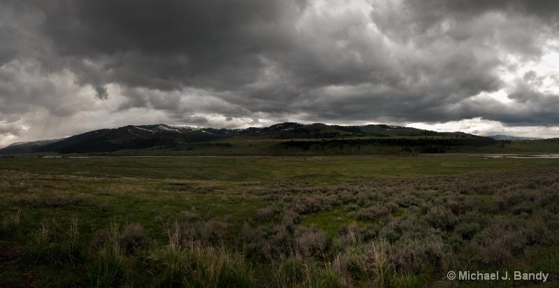 Lamar Valley - Pano