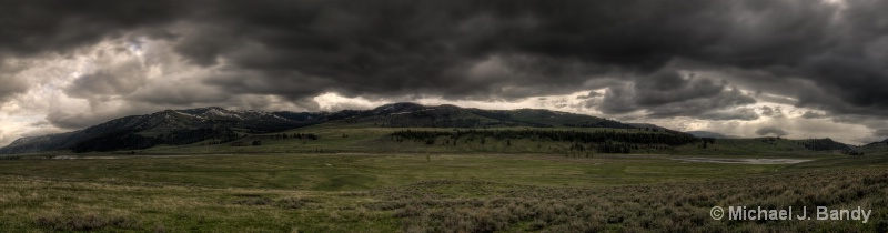 Lamar Valley - HDR Pano