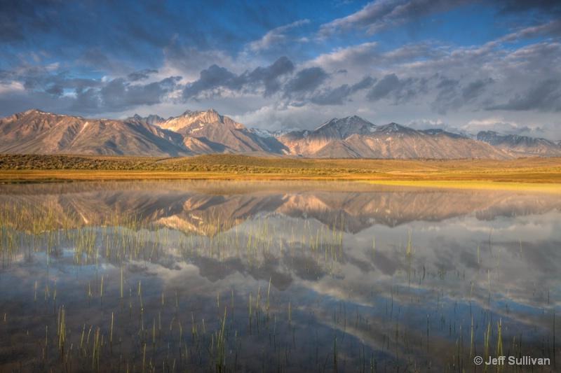 Eastern Sierra Morning Cloud Reflection