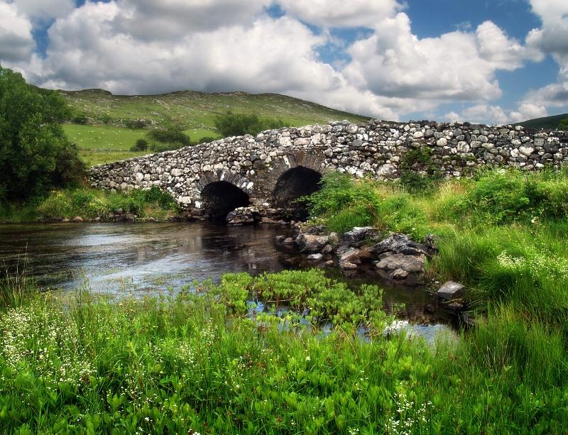"""The Quiet Man"" bridge, Connemara, Galway"