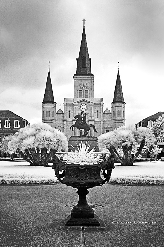 St. Louis Cathedral - New Orleans - ID: 8665444 © Martin L. Heavner