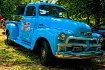 Old Blue Truck