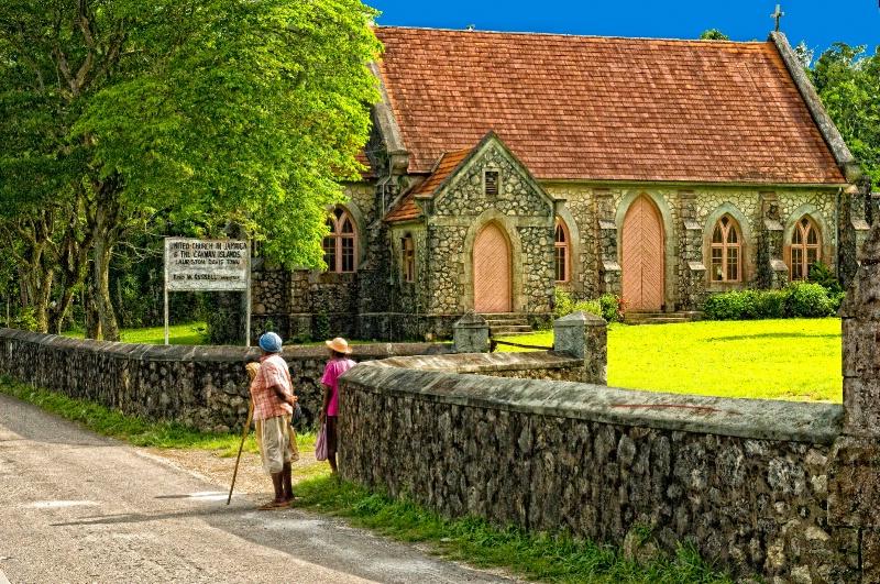 Jamaican Church Ladies