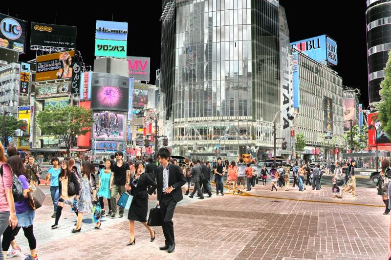 Electrifying Shibuya