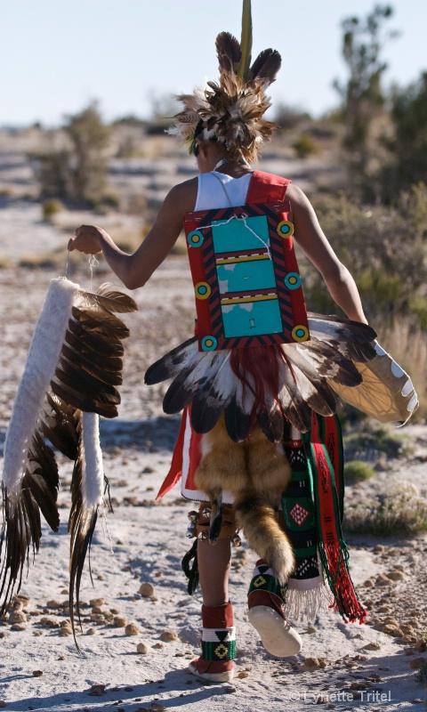 Hopi Adult Eagle Dance Outfit HTM-093 - ID: 8701681 © Lynette M. Tritel