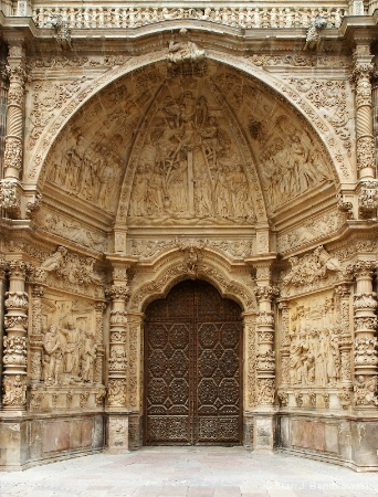 The Entrance of Astorga's Cathedral