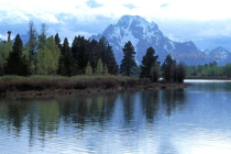 Mount Moran with filters