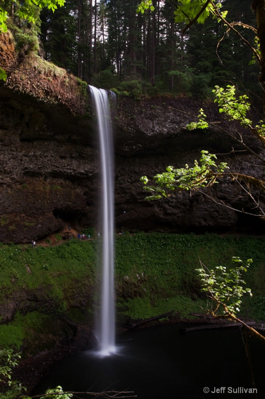 South Falls in Silver Falls State Park, Orego