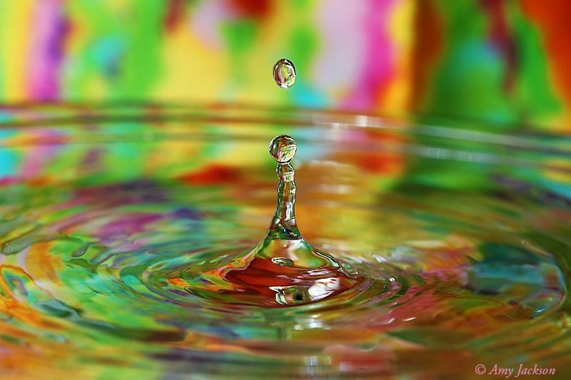 Color & Water Drops