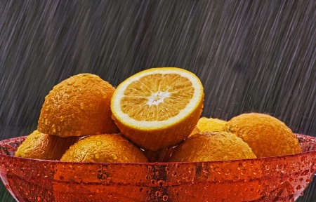 Raining Oranges