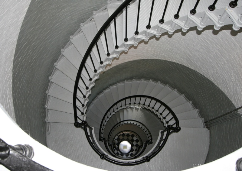 Ponce de Leon Lighthouse Stairs - ID: 8781901 © Mary Iacofano