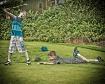 Golfing at Salish...