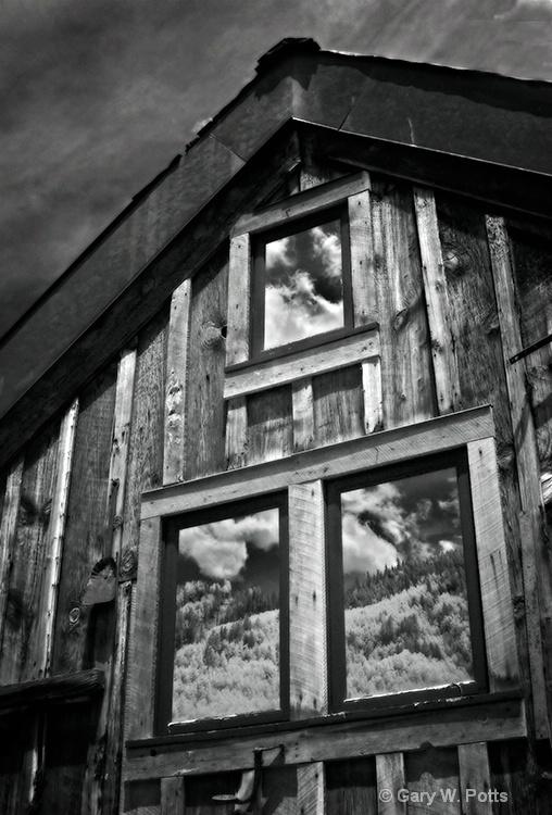 Window Reflections--Telluride - ID: 8877849 © Gary W. Potts