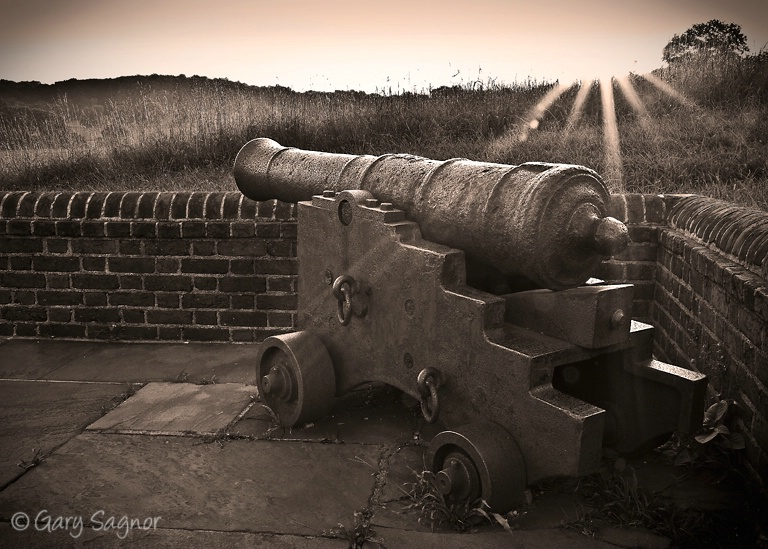 Old Canon at Valley Forge National Park, Pa.