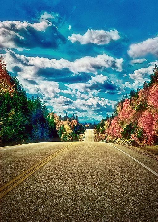 A Road Less Traveled - ID: 8883376 © Eric Highfield