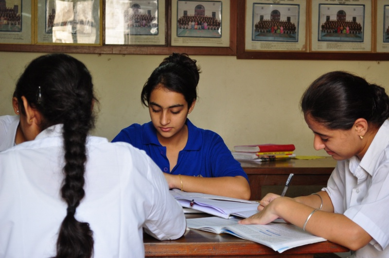 Students at prep.