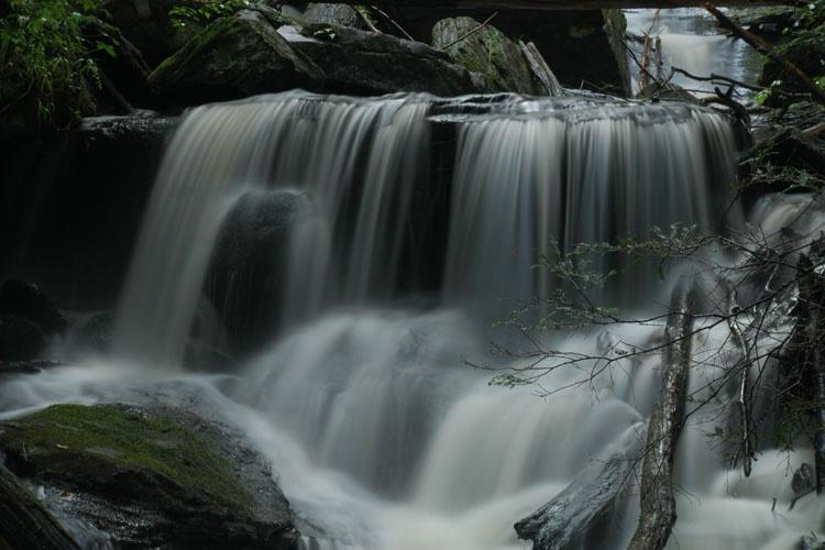 """""""Dean's Ravine Falls"""" Canaan,Ct."""