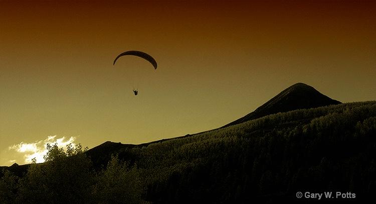 Twilight Flight - ID: 8906173 © Gary W. Potts